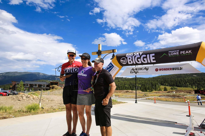 2019 Biggie - Montanner Award Winners - Tanner Visnick and Amber Steed