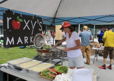 2019 Biggie Post Race Meal provided by Roxy's Market