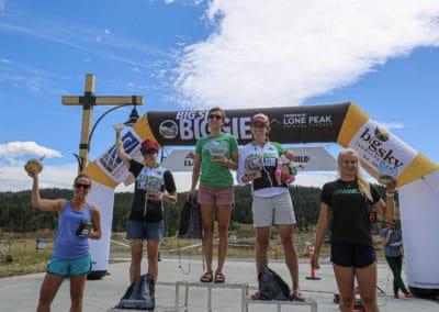 2019 Biggie 30 Mile Overall Womens Podium